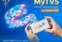 Chỉ 5.000 đồng khi đăng ký MyTV5