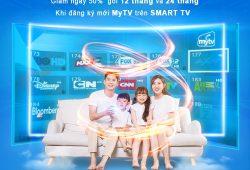 Siêu giảm giá 50% cho khách hàng đăng ký truyền hình MyTV qua ứng dụng