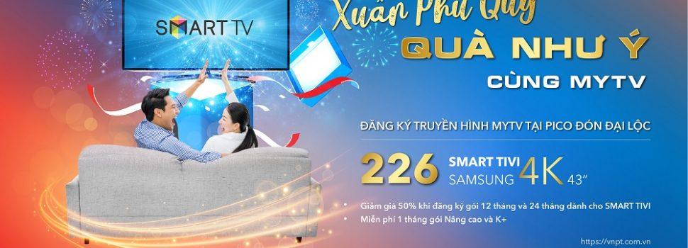 MyTV khuyến mại khủng dịp Năm mới cho khách hàng Pico
