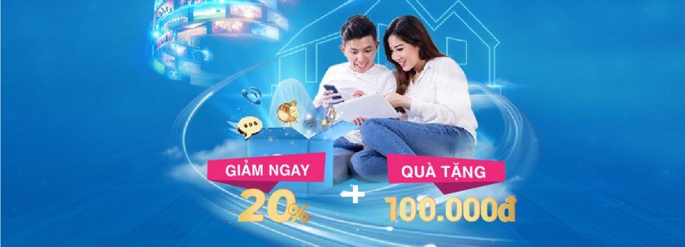 VNPT tặng ưu đãi kép cho khách hàng đăng ký Internet – Truyền hình